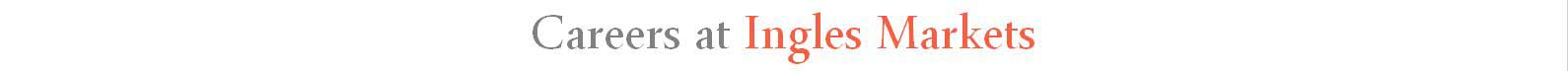 Careers at Ingles Markets